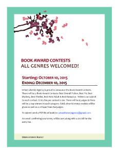 Book Award Contests
