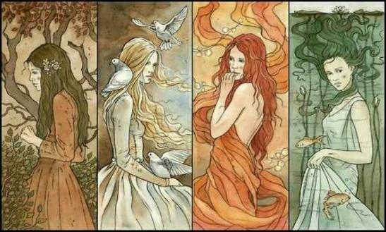 4 GODDESSES