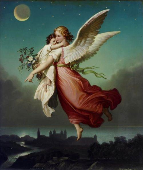 The-Guardian-Angel-by-Wilhelm-Von-Kaulbach